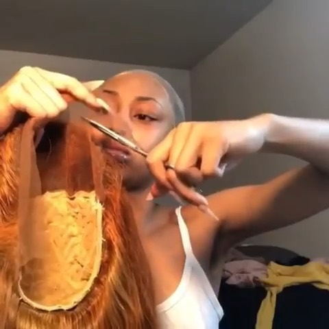 Do you cut the lace before or after the installation? 😍😍 Comment below 👇🏾👇🏾👇🏾 #aligracehair New arrival color hair  Link in bio to order  Coupon code: WIGSALE Shop wig with @aligracehair_1 . . . . Credit: @lull.babbeyy  #curlyhair #colorwigs #wigs #wig #wiginstall #lacewigs #wigsforsale #wigsforblackwomen #wigmaker #wigsale #atlantahairstylist #atlantawigs #londonstylist #londonwigs #newyorkhairstylist #newyorkwigs #blackgirlmagic