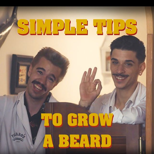 SIMPLE TIPS TO GROW A BEARD