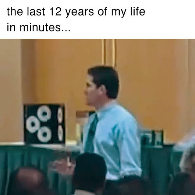 The last 12 years of my life in minutes.