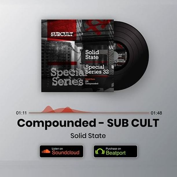 ▶ Track of the day: 💽 Compounded - SUB CULT - Solid State