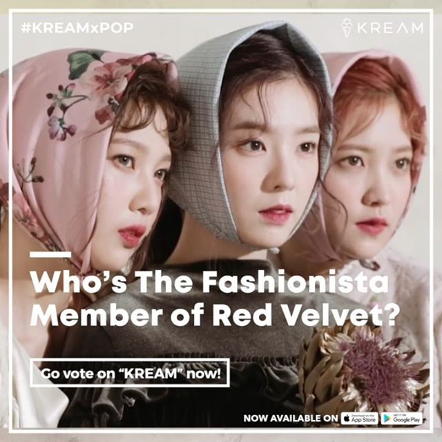 #q Who's The Fashionista Member of #RedVelvet⁉️🙋‍♀️ . 🗳VOTE NOW on #KREAM 📲 http://joinkream.com . #KREAMxPOP #KPOP #kpopidol #boygroup #girlgroup #Irene #Wendy #Seulgi #Joy #Yeri #ReVeluv #RBB #Sappy #ceci #koreanfashion #koreantrend #Outfit #ootd . © cecikoreaTV