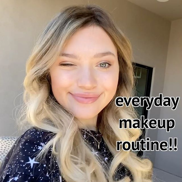 quick and natural everyday makeup look!
