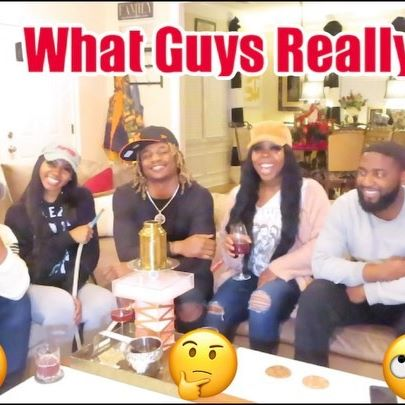 Part II of What Guys Really Think is out NOW!!! See what @lantbo @woo.1k @cmerritt_21 had to say this time....It gets real intense 😈  Link in bio 📍 @girlsnxtdoor_ • • •  #girlsnxtdoor #lifestyleblogger #blackgirlmagic #girlboss #youtubers #fashion #stylish #brazilianhair #qualityhair #blackbusiness #blackqueen #atlanta #guys #girls #youtube #vlog #thegirls #thinklikeaman
