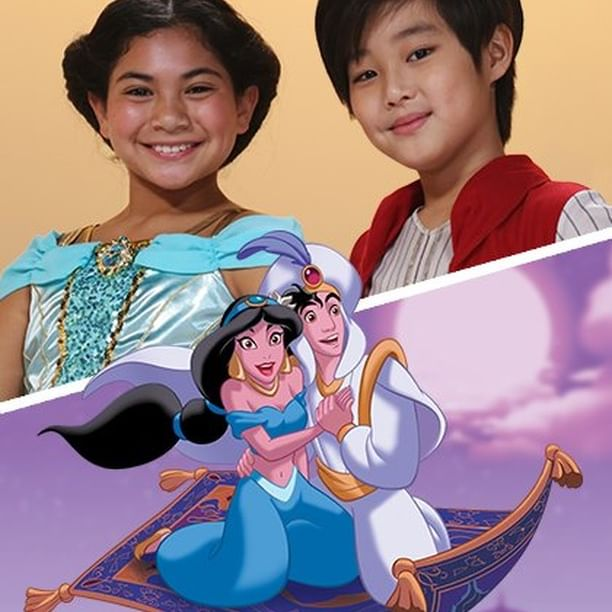 Grant your little Aladdin and Jasmine's wishes with these kid hairstyles! ✨