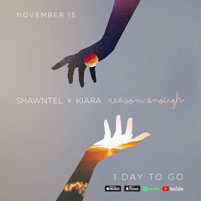 Malapit naaaaa! malalagay niyo na sa inyong LSS playlist! 💜 Out tonight at midnight! 🥰 |11.15.19 | #REASONENOUGH 🌹