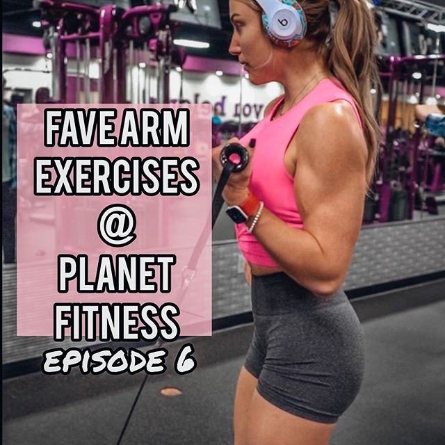 PLANET FITNESS: biceps / eps 6