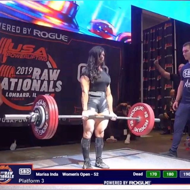 Finally!!!!! . 190kg/419lbs at 52kg bodyweight and this lift meant everything. It's been 2 years since I've PR'd my deadlift on the platform. 2 years dealing with sciatica, taking steps back in weight to heal, and 2 years of patience. . This game is not only a test of physical strength but your ability to see beyond one moment, one meet, one training block -thankful for my sticktoitiveness. . #TeamJTS #mentalgrit #fuerza #momstrong #oldladyswag