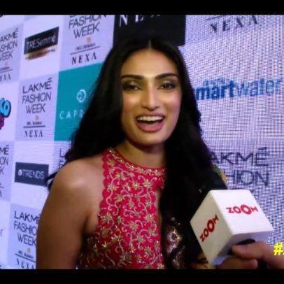 @athiyashetty can't wait to be at the biggest Holi celebration - #ZHF2020! @kingfisherworld . . Book your tickets now! . . #zoomtv #athiyashetty #actress #bollywood