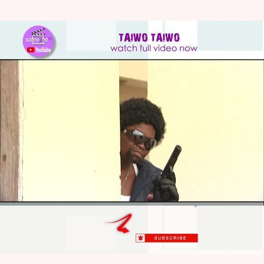 "Watch ""TAIWO TAIWO"" now on SceneoneTv Youtube Channel for free 😎🍿"