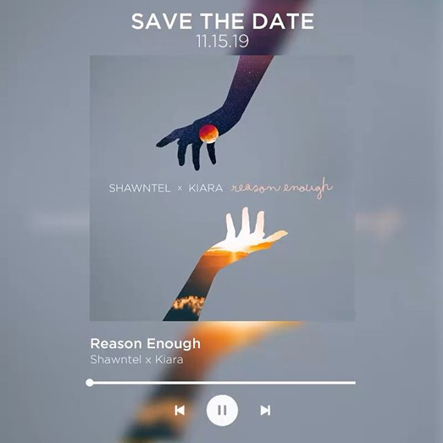 """A little extra to add on your Playlist 😍 Ang Song collab namin ni @_kiaratakahashi """"REASON ENOUGH"""", @jemmacatuns """"Can't Get Out"""", @itsmeangelieofc """"SANA SANA"""" •• OUT ON FRIDAY 11.15.19! 🌹 THANK YOU @starmusicph @starpopph 🥰"""