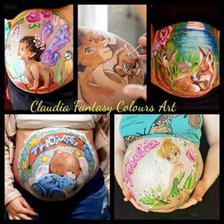 Claudia Fantasy Colours Art