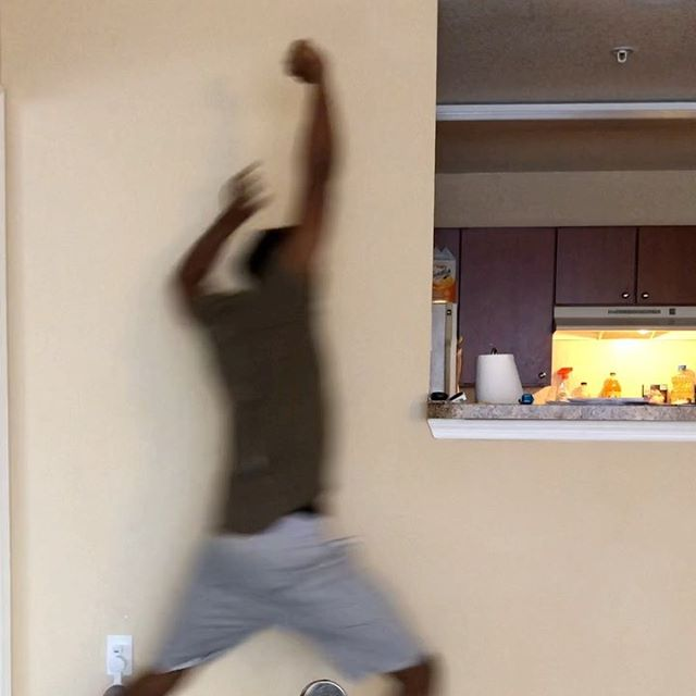 """""""When you think you're home alone""""😫😂😂 #blackmomsbelike #tazz (TAG A FRIEND)"""