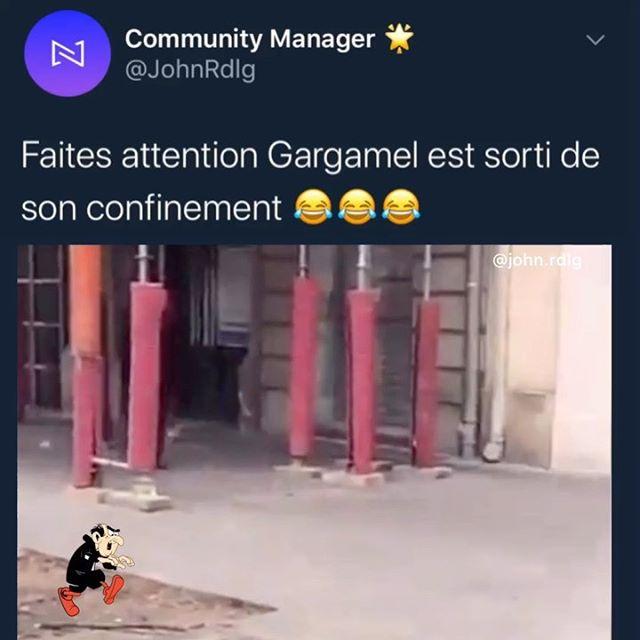 Gargamel #restecheztoietnesortplus 😂😂😂 . . . . #humour #humournoir #humourdemerde #frenchhumour #rire #mourirderire