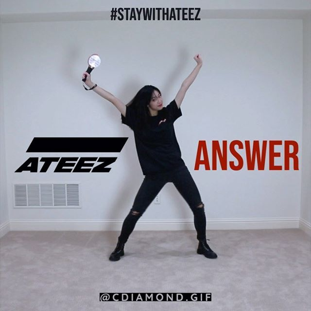 [ #StayWithATEEZ @ateez_official_ #Answer ] bringing back my lightstick cover series lessgoooo 🔥 • • • #crySTYLEcovers #ATEEZ #ATEEZANSWER #에이티즈 #lightiny #Action_To_Answer #kpop #cover #dancecover #coverdance #kpopdance #kpopcover #kpopdancecover