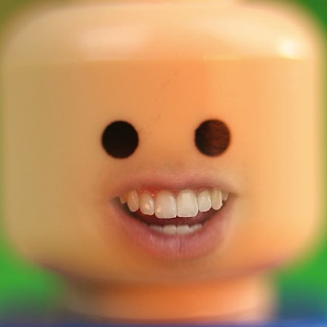 😱 This is just a test for some future projects, and I can happily say- we won't be using the mouth animation. It was fun though #stop motion #LEGO #vfx #creepy #beautiful #wahtnow