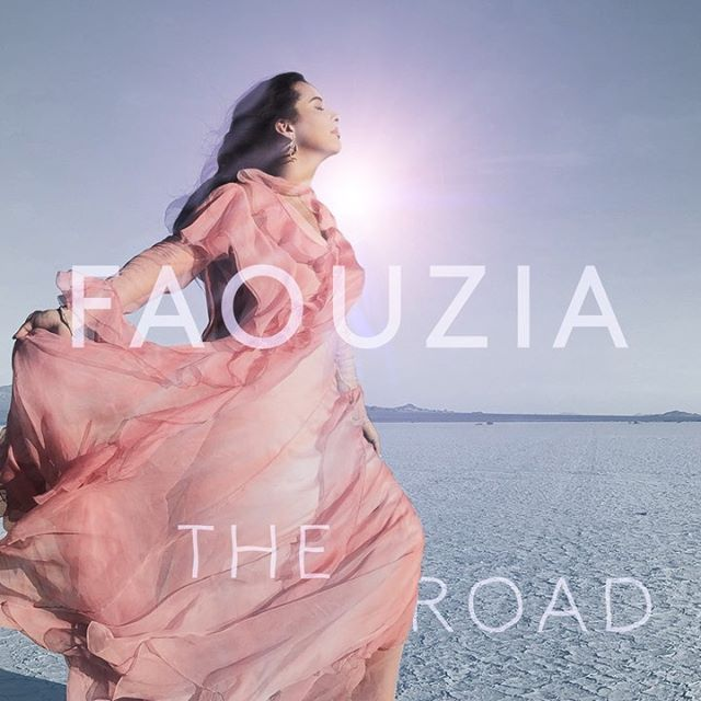 "Time to hit ""The Road""... qué te pareció el nuevo single de @faouzia . . . #Faouzia"