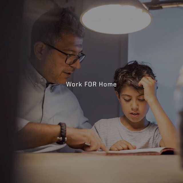 By working from home, we're working for tomorrow. Together, we work FOR home.  #Ram #RamTrucks #WorkForHome