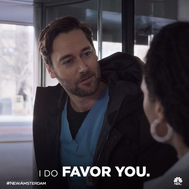This part though! 👀 #NewAmsterdam