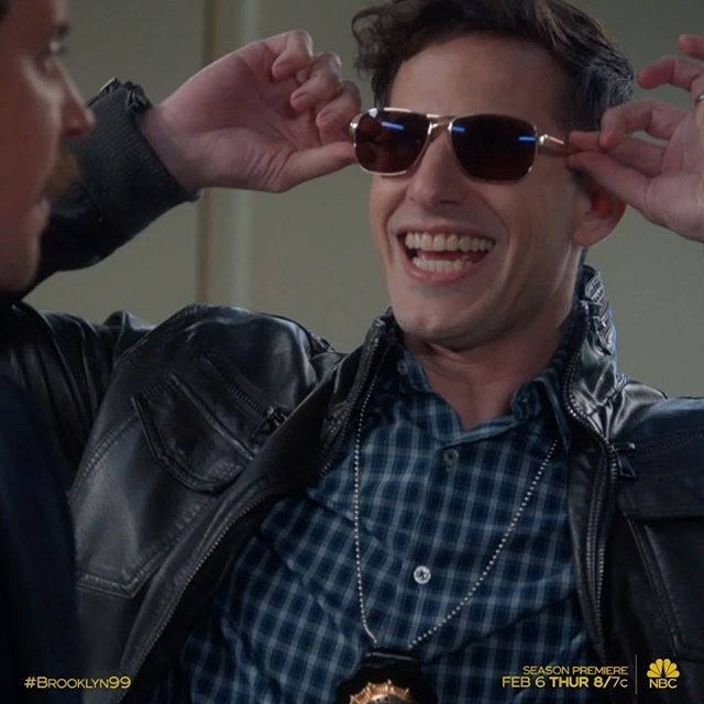 ONE. MORE. WEEK. also, this video loop is bananas and makes me laugh. SEE YOU IN A WEEK NINE NINERS!!!! #brooklyn99