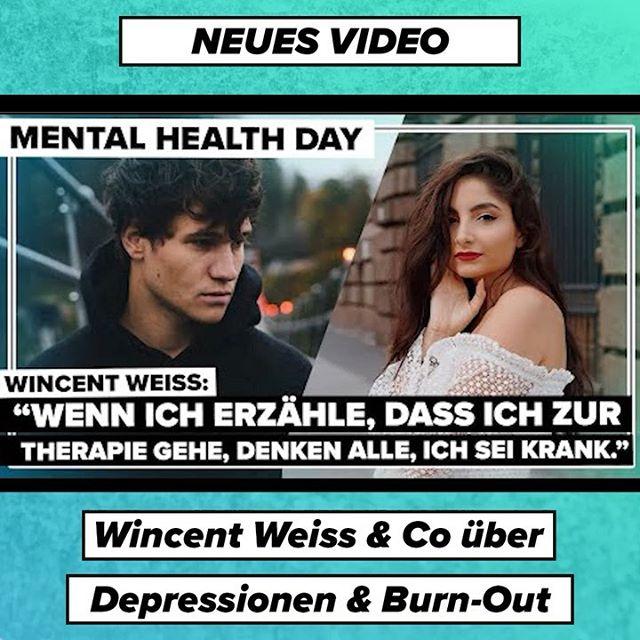 Am 10. Oktober ist der internationale Mental Health Day! Wincent Weiss, Ischtar Isik, Sami Slimani & Co. sprechen über ihre Erfahrungen mit Depressionen und Burn-Out. ⬆️ Link in der Bio! #worldmentalhealthday #mentalhealthday #wincentweiss #samislimani #ischtarisik #digsterpop
