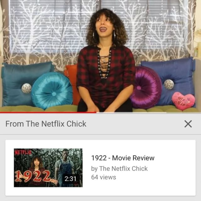 """Check out the New requested @netflix review! """"The Perfect Host"""". Link in bio! https://youtu.be/s90rCL7GvDM #TheNetflixChick #Netflix #Reviews #halloween #darkcomedy #comedythriller #ThePerfectHost"""
