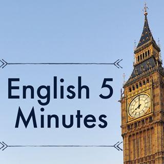 English 5 minutes