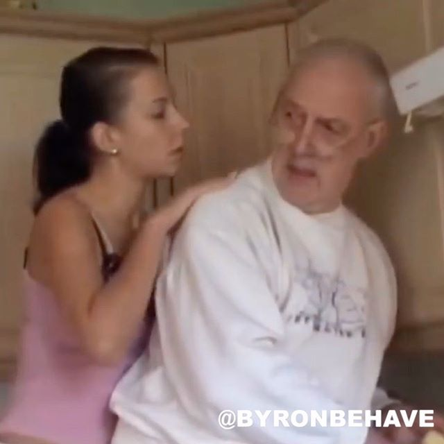 That one time I walked in on Gramps 😂 (@byronbehave) .... Follow me @Byronbehave for more laughs! . #ByronBehave #ExplorePage