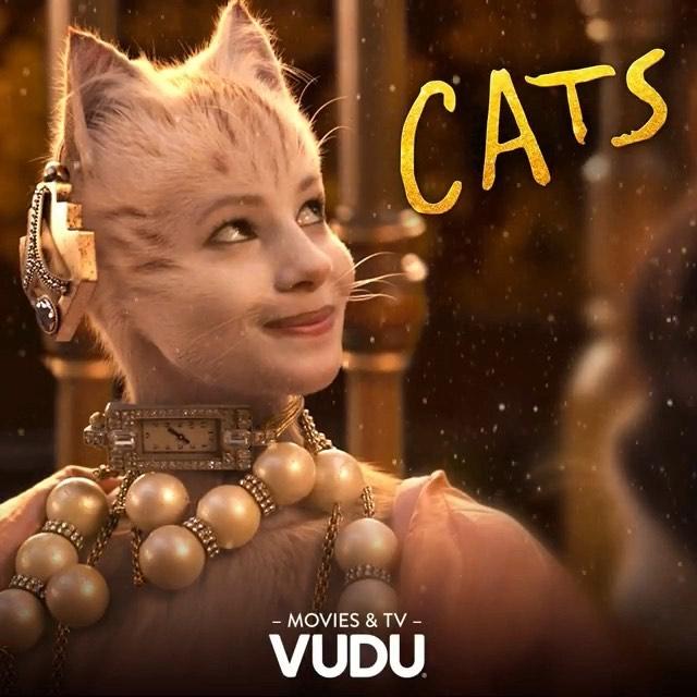 #Repost @catsmovie ・・・ Meow on Demand.  Watch #CatsMovie on Demand with @vudufans https://uni.pictures/CatsVudu