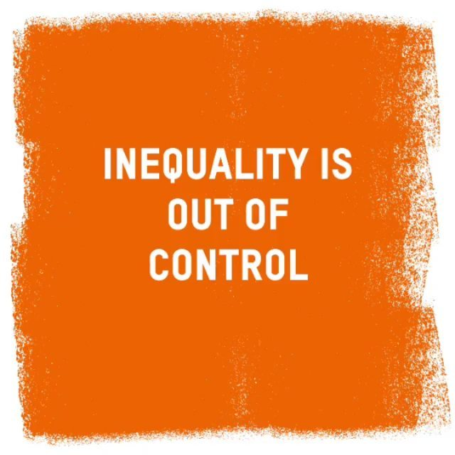 The inequality crisis is spiraling out of control. ⚠️ Our latest findings show the world's billionaires have more wealth than 60 percent of the world's population – that's more than 4.6 million people. • Our broken economy is lining the pockets of billionaires and big business at the expense of everyday people. If we want to #beatpoverty, we must #fightinequality. ✊🏾✊🏽✊🏼 Time to end the billionaire boom. Click our bio to learn more. • • #wef20 #davos #inequality #justice #oxfam #MakeCareCount ##billionaires #richkidsofinstagram #workersrights #womensrights #humanrights #everyday