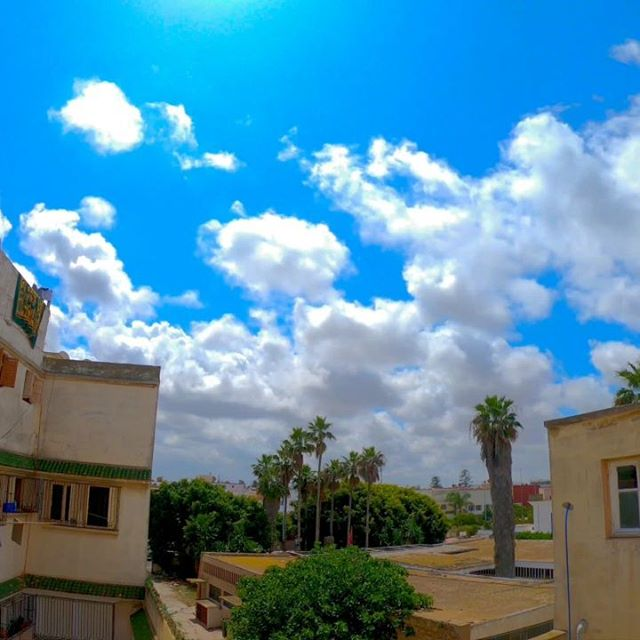 Beautiful blue sky and clouds.☁️ #Clouds #sky #skyporn #cloudysky #bluesky #best_timelapse #timelapse #cloudsporn #skyview #raw_skies #gopro #goprohero #stayathome #skyscape #skyphotography