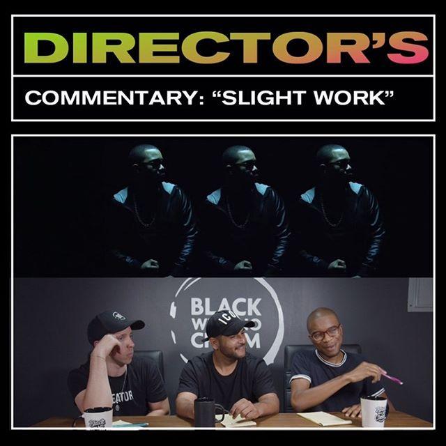 #directorscommentary @mattalonzo @madebyolufemii & @benrealvsworld