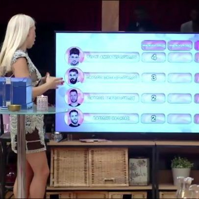 Το σπίτι #PowerofLoveGR ψήφισε και έδωσε προβάδισμα μόνο στον Τζόνι από τα αγόρια, ενώ τα κορίτσια ισοψήφισαν #SkaitvGR