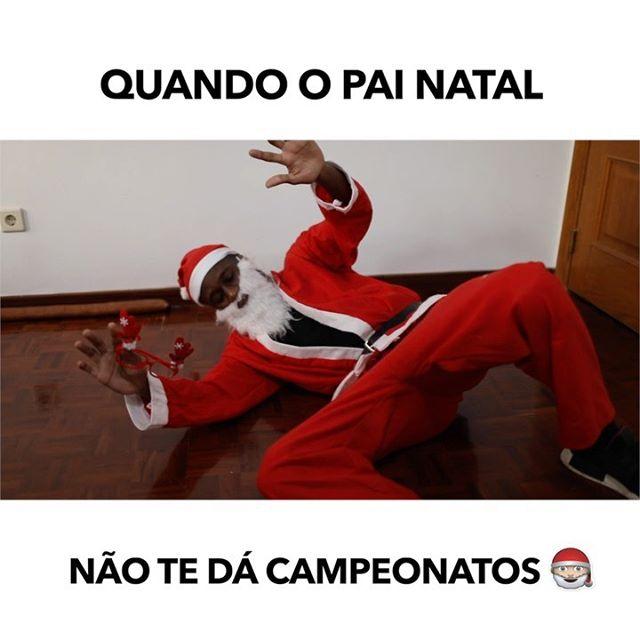 Este Pai Natal afinal não dá os melhores presentes 😂😂😂😂 Identifica 5 amigos ‼️ #natal