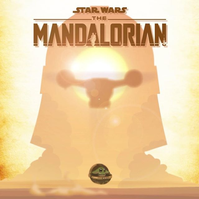 "What do you think was better? Starwars ""The Mandalorian"" or Star Wars ""The Rise of Skywalker?"" 🤔  Artwork by one of our amazing illustrators @hue_zugasti  Production by @essencecartoon team  Happy Holidays Everyone!!! We will try to upload more regularly for 2020!  #themandalorian #starwars #theriseofskywalker #babyyoda #mandalorian"