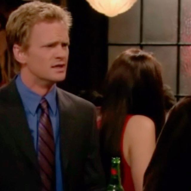 I'm curious, how many of you have thought about suiting up every day like Barney? . with this whole social distancing thing I've worn nothing but yoga pants and sweatpants for like a month straight! I really miss wearing real clothes 🙁 . S01E01 Pilot . #dotvideos #himym #howimetyourmother #barneystinson #tedmosby #suitup #suitup👔 #suit #suits