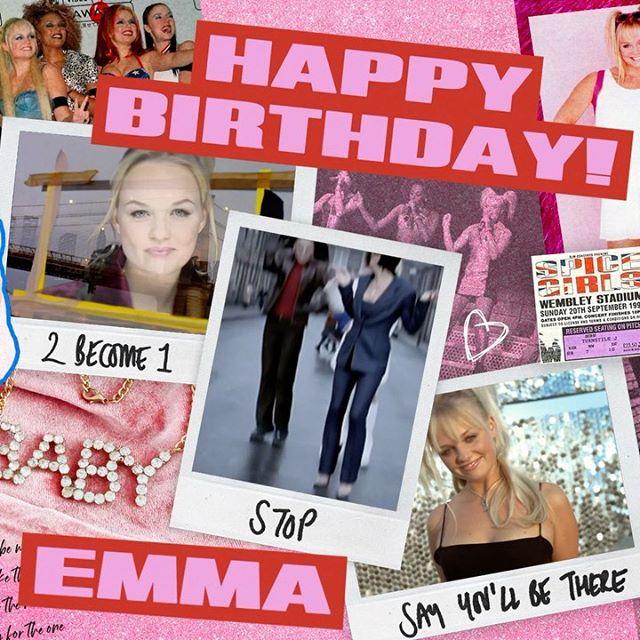 Happy birthday Emma 🎉✌️💕 @emmaleebunton