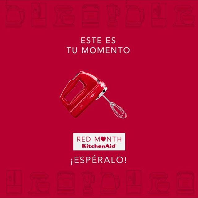 Red Month es el momento ideal para conseguir ese producto KitchenAid del que estás enamorado. ¡Espéralo pronto!