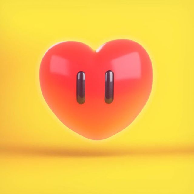 Have a heart.  #cinema4d #c4d #physicalrender #modeling #mograph #motiongraphics #motiondesign #animation #supermarioodyssey