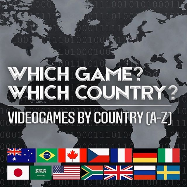 What country are the games you love made in? Find out in our new YouTube video, link in BIO & stories! 🎮🌍 ┅ #videogames #playstation4 #xboxone #ps3 #ps4 #ps5 #nintendoswitch #fruitninja #agario #fifa #sony #assassinscreed #hitman #ubisoft #lifeisstrange #angrybirds #sekiro #pacman #cyberpunk2077 #brazil #canada #czechia #germany #poland ┈