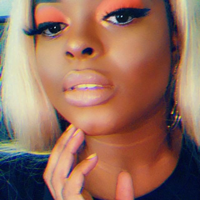 🎃4 minute Orange Eye Look 💕