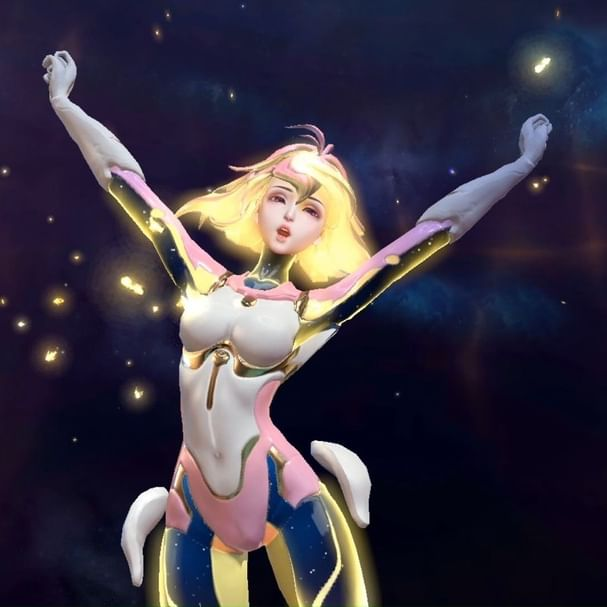 Dapatkan Hero Support Terbaru AOV, Rouie the Manipulator of Space, GRATIS! . Rouie merupakan salah satu anggota Light Chaser Squad yang membantu Master Tulen dalam menyelesaikan misi rahasia. Tak hanya cantik, Rouie juga memiliki kemampuan yang unik. . Kalian bisa mendapatkan Hero Rouie Permanen secara GRATIS melalui event yang berlangsung selama Bulan Suci Ramadan. . Pantau terus Social Media dan Website resmi Garena AOV untuk mengetahui informasi lebih lanjut! . ========== . Get FREE Permanent Hero, Rouie the Manipulator of Space! . Rouie is a member of Light Chaser Squad who helps Master Tulen in completing secret missions. Not only she has an exquisite design, she also has unique abilities. . You can get this Support Hero for FREE through an event that takes place during the Holy Month of Ramadan. . Stay tuned on Garena AOV social media and website post for more information! . Download AOV: aov.co.id/download . #GarenaAOV #ArenaofValor #傳說對決 #Lienquanmobile #ROV #AOV #Games #Moba #NewHero #Rouie #Support
