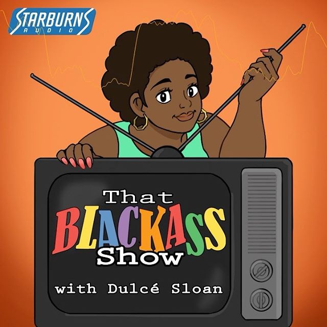 """Hey friends! I have a new podcast launching on April 22nd on @starburnsaudio called """"That Blackass Show"""". I will be talking to black creatives about their favorite black tv shows, movies and other black media and why they love them! We also do a segment called """"Blackass Confession"""" when the guest and I confess to a movie, show, or activity in black culture that we haven't seen or can't do. Mine are wild lol  Like, follow and subscribe on @spotify, @itunes or anywhere else you catch podcasts. Follow us on @thatblackassshowpod  Thank you to my producer Judith Kargbo @jkargbo13 who pitched and developed this idea. Thank you sis."""