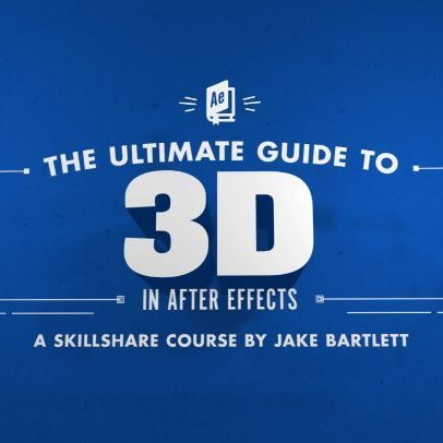 This @skillshare class has been months in the making, but I've finally published it! My goal with this one is to teach you everything about working with 3D in After Effects. I cover 3d cameras, lights, layers, material options, animating in 3D and even creating true 3D geometry using the Cinema 4D render engine. It's a good one! Link in profile.  #aftereffects #skillshare #motiongraphics #motiondesign #animation #3d