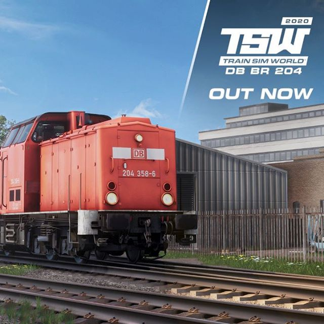 Climb aboard the detailed DB BR 204 and get to work on diesel shunting duties, as this iconic locomotive is available now for Train Sim World!