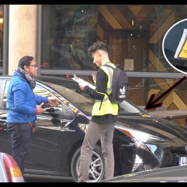 Car ticket PRANK😂 full video on my YouTube