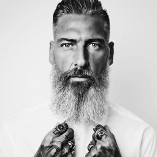 Model*Beard*Tattoos*Style