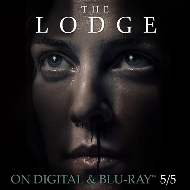 @thelodgemov Certified Fresh on Rotten Tomatoes, this bone-chilling nightmare follows a family who heads to their cabin over the holidays.  Isolated and alone, a blizzard traps them inside the lodge as terrifying events summon specters from the past. Own The Lodge on Blu-ray, DVD & Digital 5/5