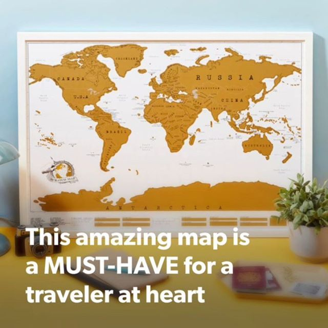 These beautiful maps are a MUST-HAVE for traveler-at-heart ❤️ . 👉 Tag your friends who should buy this! . Shop Now or check link in our bio :)