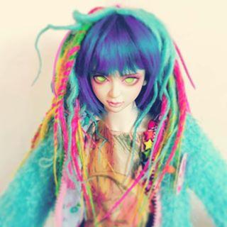 iridescent starchild