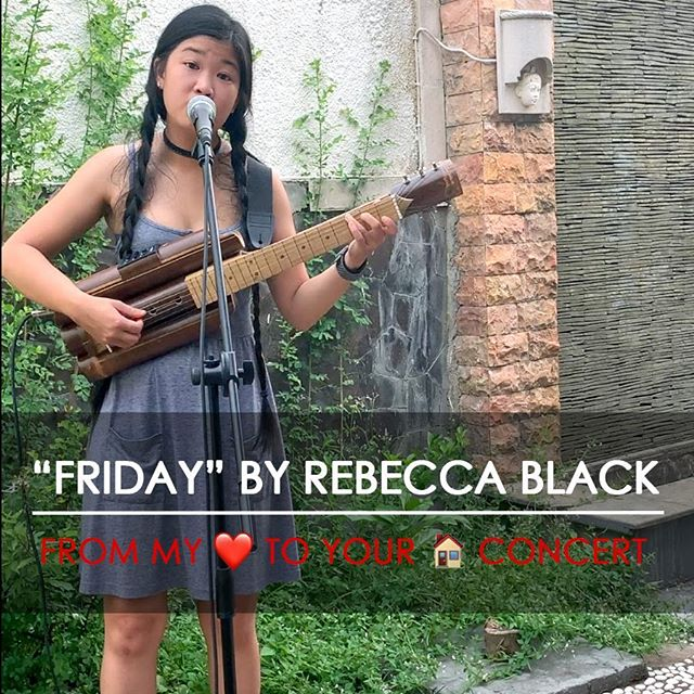 """""""Friday"""" by Rebecca Black - Online a Concert Series"""